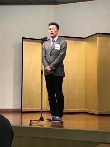 2 忘年会2017 社長挨拶 (3)